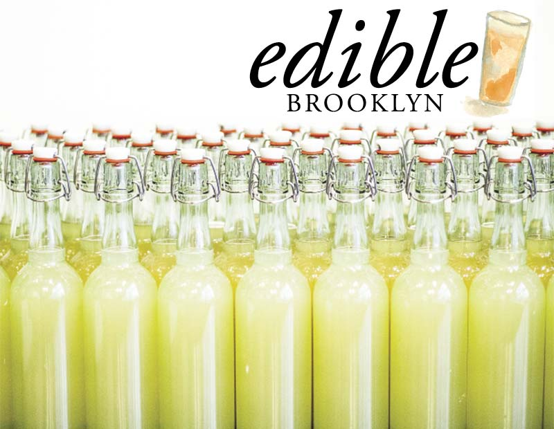 Edible Brooklyn Drinks Issue Cover | Barrow's Intense Ginger