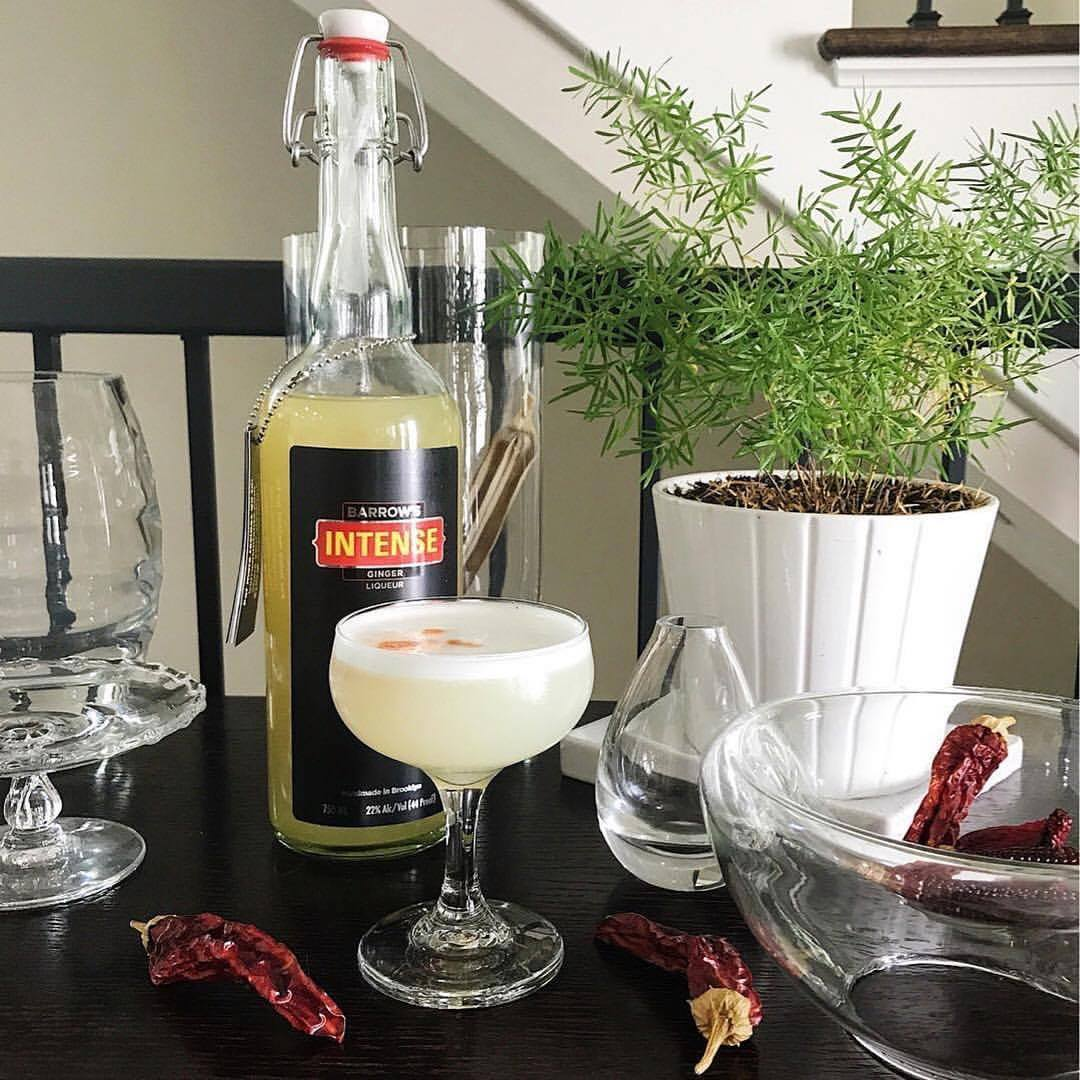 Ginger Pisco Sour