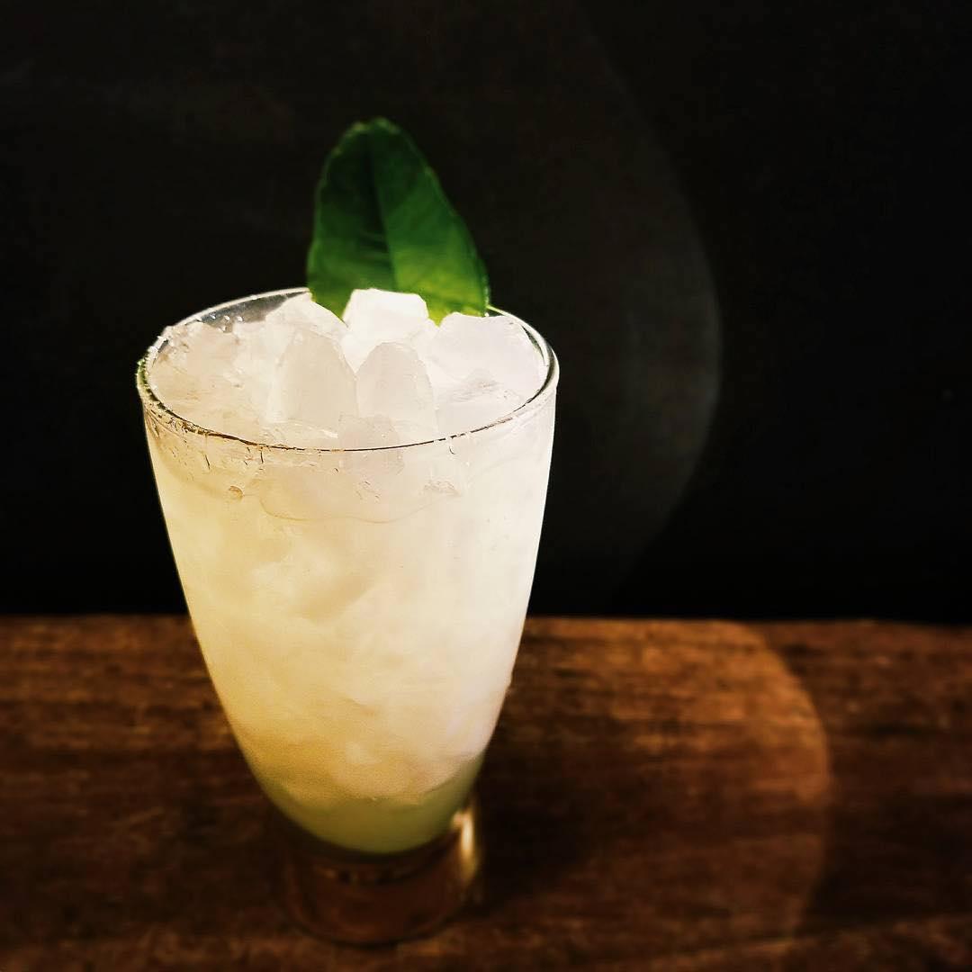 Makrut Lime julep